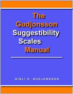 The Gudjonsson Suggestibility Scales