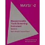 MAYSI-2 (2006): Massachusetts Youth Screening Instrument User's Manual & Technical Report